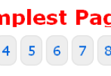 PHP simplest pagination script with jQuery
