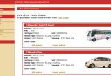 Vehicle Management System project in Java