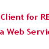 Consuming RESTful Web Service using jQuery Ajax Client
