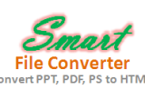 Smart File Converter – Convert PPT, PDF, PS file into HTML