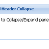 ExtJS panel collapse on header click event