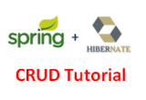 SpringMVC Hibernate CRUD Tutorial using Eclipse