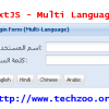 ExtJS Form Multi-Language Internationalization example