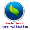 Sencha Touch : Login Form with validation