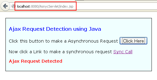 How to Detect Ajax Request using Java Servlet? - TechZoo